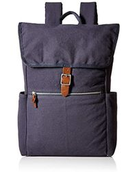 Alternative Apparel Cotton Computer Backpack - Blue
