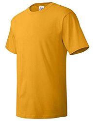 Hanes Comfortsoft Short Sleeve T-shirt (4 Pack ) - Metallic