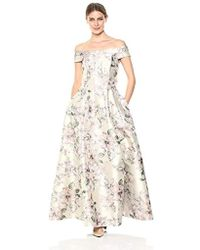 Eliza J - Off-the-shoulder Gown - Lyst