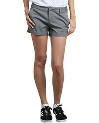 Volcom Frochickie Chino Shorts - Gray
