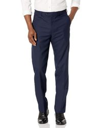 Vince Camuto Slim Fit Dress Pants - Blue