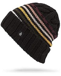 Volcom Wiltern Classic Fit Snow Beanie - Black