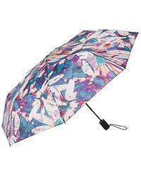 Nicole Miller Automatic Open/close Umbrella-880nm-trop - Multicolor