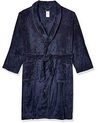 Tommy Hilfiger Cozy Fleece Robe - Blue