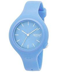 Rip Curl Analog Quartz Watch With Polyurethane Strap A2696gbab1sz - Blue