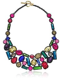 """Trina Turk - """"confetti And Cocktails Stone Y-shaped Necklace, 17"""" - Lyst"""