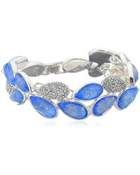 Kenneth Cole - Power Of The Flower Opal And Crystal Stone Pave Bracelet - Lyst