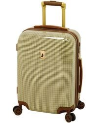 London Fog Cambridge Hardside Expandable Luggage With Spinner Wheels - Green
