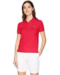 Lacoste - Classic Fit Short Sleeve Soft Cotton Petit Piqué Polo - Lyst