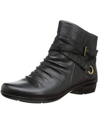 ca7800fb542 Naturalizer 'cycle' Bootie in Black - Lyst