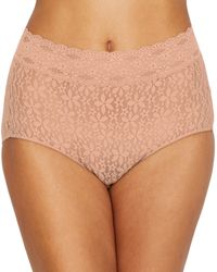 Wacoal - Halo Lace Brief Panty - Lyst