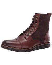 Cole Haan Original Grand Cap Toe Boot Ii Fashion - Brown
