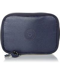 Kipling Womens 100 Pens Cosmetic Bag - Blue