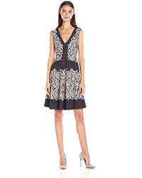 BCBGMAXAZRIA - Bcbgmax Azria Vallarie Knit City Dress - Lyst
