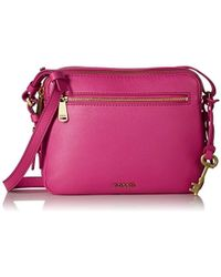 Fossil Piper Toaster Crossbody - Pink