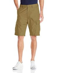 e46d9170 Levi's Carrier Cargo Shorts in Red for Men - Lyst
