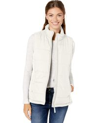 Amazon Essentials Heavy-Weight Puffer Vest Down-Outerwear-Vests - Bianco