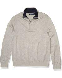 Nautica Quarter-zip Sweater - Gray