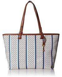 Fossil - Damentasche ? Rachel Shopper, 's Tote, Multicolour (ecru Multi Stripe), 10.16x33.02x35.56 Cm (b X H T) - Lyst