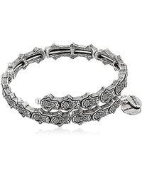 ALEX AND ANI - Hand Of Fatima Wrap Bracelet - Lyst
