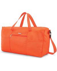Samsonite Foldaway Packable Duffel Bag - Orange