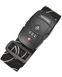 Samsonite - Travel Sentry 3-dial Combination Luggage Strap - Lyst
