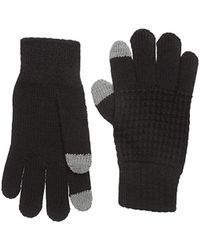 Perry Ellis - Waffle Knit Gloves - Lyst
