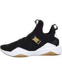 2d585b890678a3 Lyst - PUMA My66 Sneaker Wedge in Black White in Black