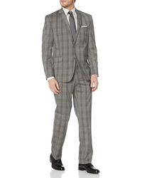 Geoffrey Beene Two-button Suit - Gray