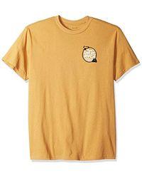 RVCA - Don't Call Us Short Sleeve T-shirt - Lyst