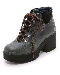 Studio Pollini Hiker Boot - Black