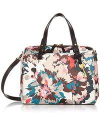 Fossil Rachel Satchel Handbag - Multicolor