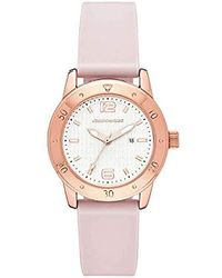 Skechers - 'redondo' Quartz Metal And Silicone Casual Watch, Color:pink (model: Sr6170) - Lyst