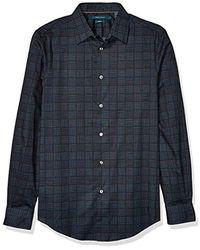 Perry Ellis - Mini Square Dot Print Long Sleeve Shirt - Lyst