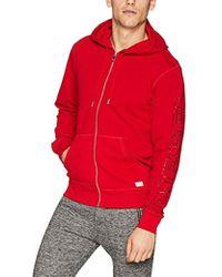 DIESEL - Umlt-brandon-zip Up Hooded Sweatshirt - Lyst