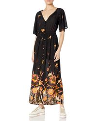 Billabong Maxi Casual Dress - Black