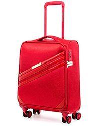DKNY Valencia Expandable Softside Spinner Luggage With Tsa Lock, Red