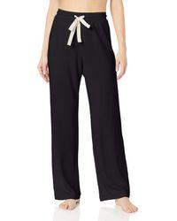 Amazon Essentials Lightweight Lounge Terry Pajama Pant - Black