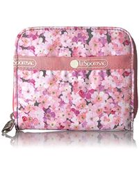 LeSportsac Classic Claire Wallet - Pink