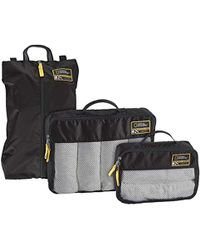 Eagle Creek National Geographic Adventure Essential Packing Set - Black