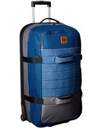 Quiksilver New Reach LUGGAGE Roller - Blue