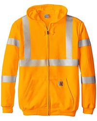 Prime Quality Hi Vis Hooded Sweater High Visibility Clothing Top Swede