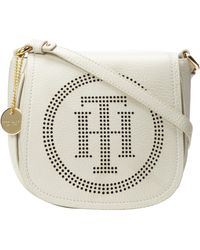 Tommy Hilfiger Bailey Pebble Cross Body,winter White,one Size