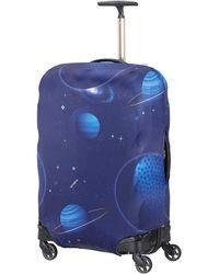 Samsonite Global Travel Accessories Lycra Luggage Cover M - Blue