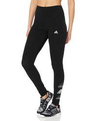 adidas Womens Sport Leggings Black X-Small - Nero