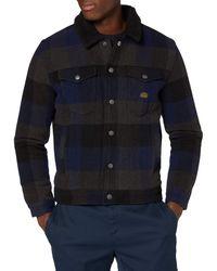 Superdry S Highwayman Wool Sherpa Trucker Denim Jacket - Mehrfarbig