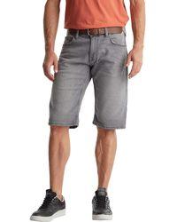 Esprit 040ee2c358 Pantalones Cortos de Jean - Gris