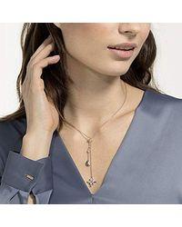 Swarovski Collana Lariat Y Donna placcato_oro - 5494357 - Metallizzato