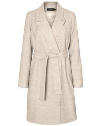 Vero Moda VMCALAHOPE 3/4 Jacket Boos Parka - Neutro