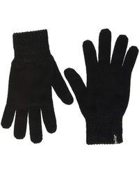 Levi's LEVIS FOOTWEAR AND ACCESSORIES Lurex Gloves Guanti Pesanti - Nero